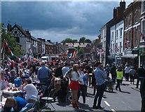 SK3516 : Diamond Jubilee festival, Ashby by Oliver Mills