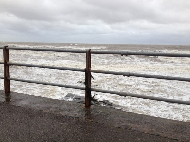 Solway Firth from Maryport Promenade by Richard Thomas