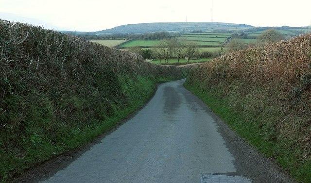 Lane near Fursdon