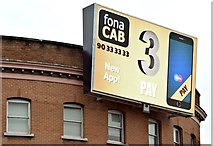 J3373 : Digital advertisement, Shaftesbury Square, Belfast - January 2016(2) by Albert Bridge