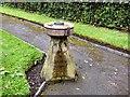 SJ8898 : Clayton Hall fountain by Gerald England