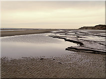 SD2707 : Mud and Sand at Formby by David Dixon