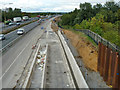 TQ5781 : Widening the M25 by Robin Webster