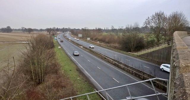 A64 near Bishopthorpe