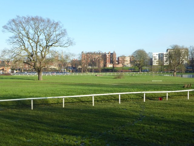 View to the University of Worcester