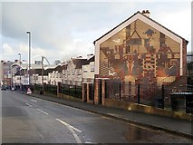 NZ2564 : Sallyport Crescent off City Road, Newcastle upon Tyne by Andrew Curtis