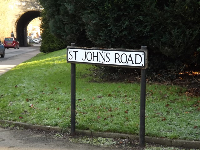 St.Johns Road sign