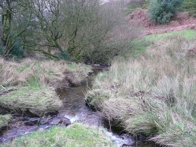 The confluence of Shaw's Clough and Old Eli Clough, Sowerby