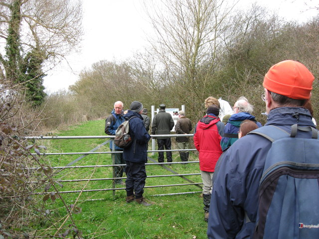 A Party visits the Millhoppers Nature Reserve