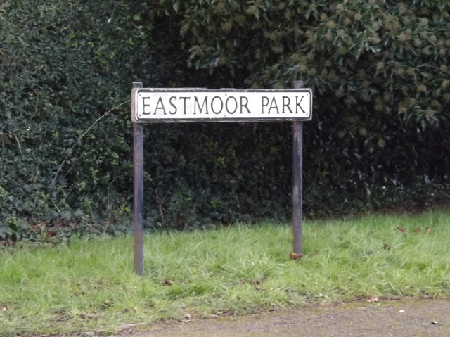 Eastmoor Park sign