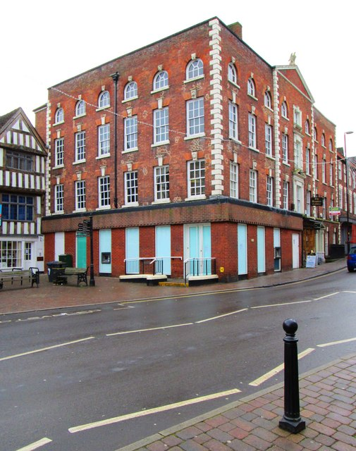 The former HSBC Bank, 15 Load Street, Bewdley, Worcs