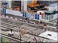 SJ8397 : Metrolink Works at St Peter's Square (January 2016) by David Dixon