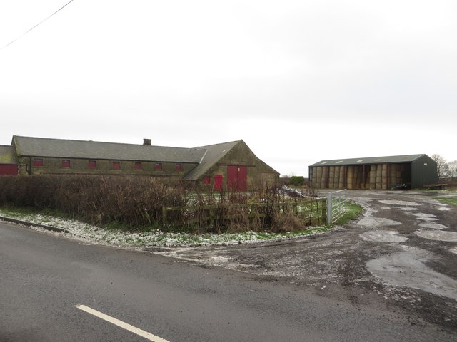 Buildings at Whitefield Farm, Pegswood