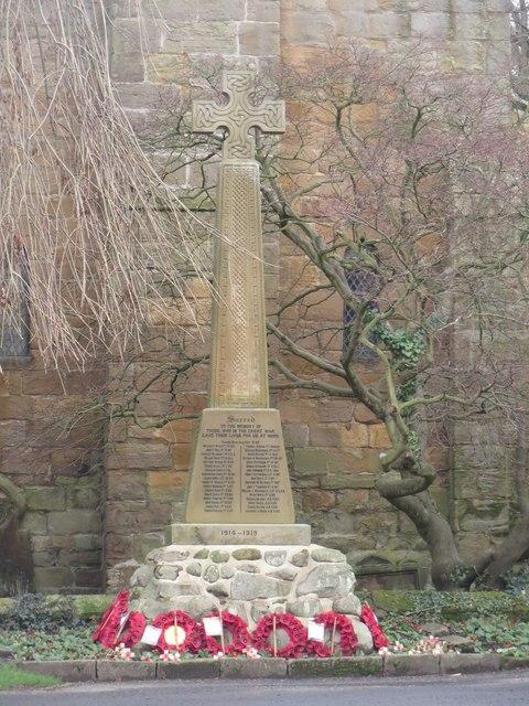 Bothal War Memorial
