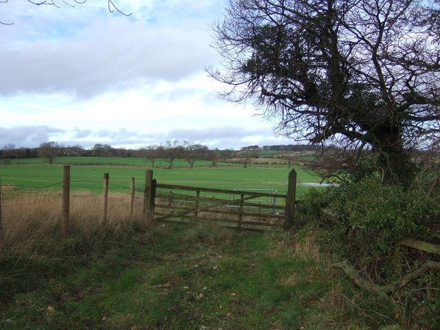 Field entrance, Walworth Gate