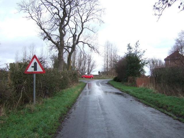 Junction on Park House Lane