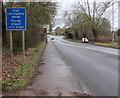ST4790 : Dual carriageway ahead, Caerwent by Jaggery