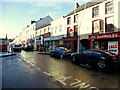 H4572 : Sunshine and shade, Omagh by Kenneth  Allen