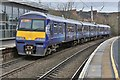 NS5566 : Electric Train Departing From Partick Train station by Garry Cornes