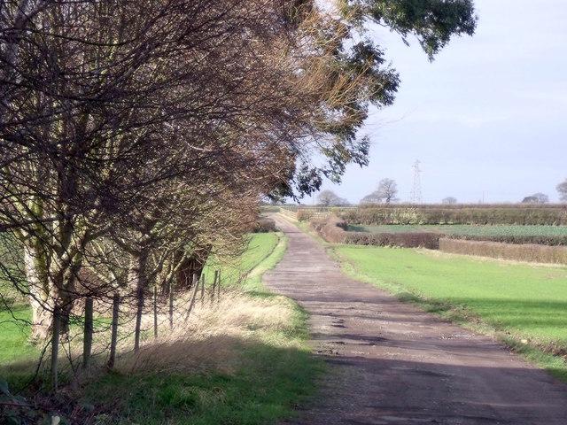 Track to Arleston