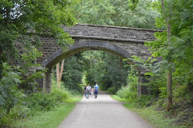 Access bridge, Monsal Trail