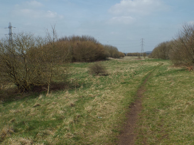 West side of Chasewater country park near Brownhills