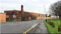 SE2932 : Railway workshops, Nineveh Road, Leeds by Stephen Craven