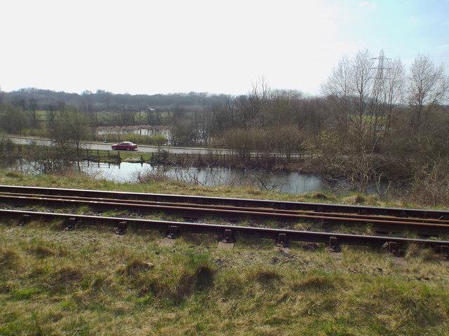 Hednesford Road near Brownhills West