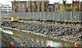 J3674 : Connswater path works, Belfast - January 2016(4) by Albert Bridge