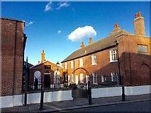 TQ7567 : Hospital of Sir John Hawkins Almshouses, High Street, Chatham by Chris Whippet