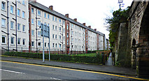 NS3174 : Highholm Street tenements by Thomas Nugent