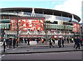 TQ3185 : Matchday at the Emirates by Jim Osley