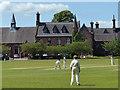 SJ7560 : Cricket match at the Sandbach School by Mat Fascione