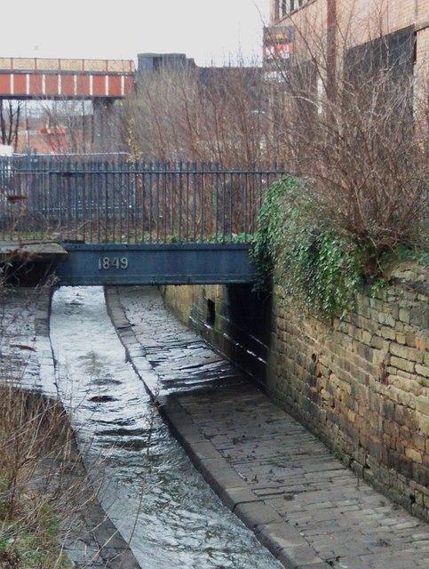 Marshall's bridge over the Hol Beck