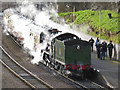 SK5808 : Witherslack Hall at Leicester North Station by Chris Allen