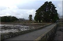 SH5571 : Causeway to Church Island by Arthur C Harris