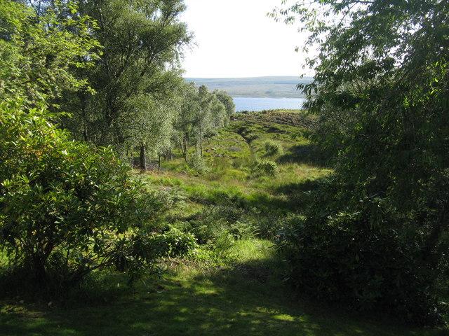 Loch Shin from Shinness Lodge