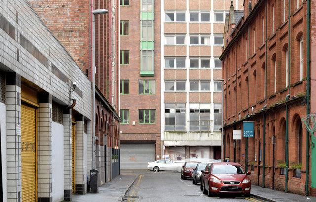James Street South, Belfast (January 2016)