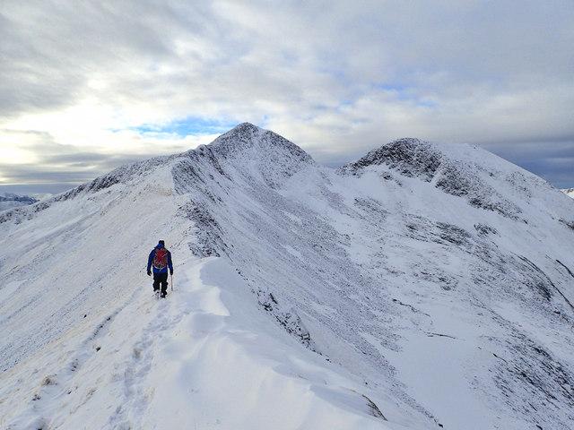Climbing Na Gruagaichean
