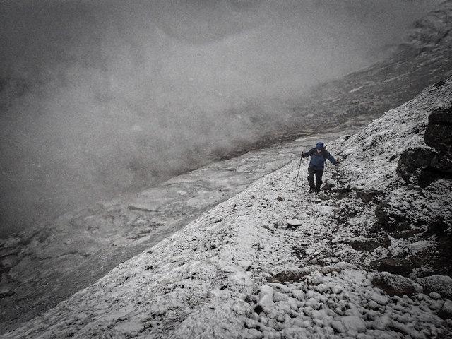 Ascent of Sgòr Eilde Beag