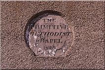 NT9953 : Plaque, former Primitive Methodist Chapel by Ian Capper