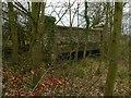 SK9112 : Former railway bridge, Cottesmore Road, Exton by Alan Murray-Rust