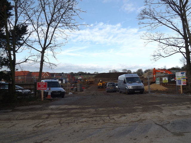 Phase2 Abbott Grange Housing Estate Entrance