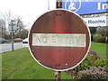 TQ2742 : Pre-Worboys no entry sign on Brighton Road by David Howard