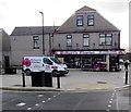 SO1911 : Robert's Florist shop and van, Brynmawr by Jaggery