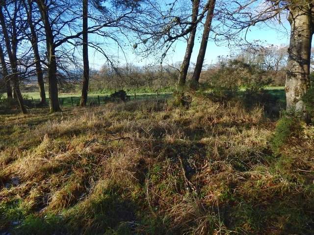 The former site of Hill of Garshake Farm