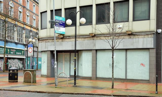 No 63 Royal Avenue, Belfast (January 2016)