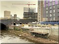 SJ8399 : New Development next to the Irwell at Greengate by David Dixon