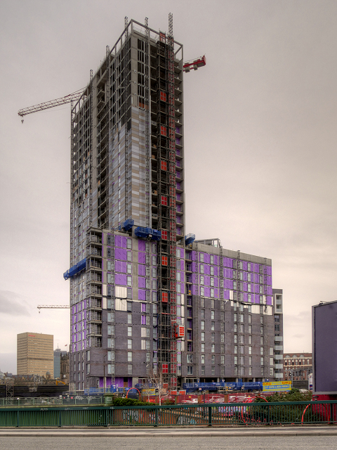 High Rise Construction at Greengate
