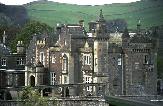 Abbotsford House, Melrose © Anthony O'Neil cc-by-sa/2.0 ...